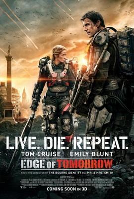 Yarının Sınırında / Edge of Tomorrow (2014) IMDb: 8.0 Yakın gelecekte dünyayı ele geçiren Mimics adlı uzaylı birliği, birçok büyük şehri yok eder ve milyonlarca insanı ölümün eşiğinde bekletir. Dünyada hiçbir ordu, onların hızına, silahlarının gücüne ve de en önemlisi telepati yoluyla emir verme ve uygulama güçlerine ulaşamaz. Artık dünyadaki tüm ordular bu uzaylı sürüsüne karşı güçlerini birleştirmek durumundadır ve bu güç birliği dışında ikinci bir şansları yoktur. http://www.imdb.com/title/tt1631867/