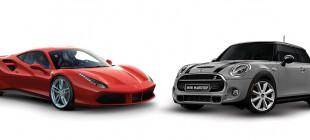 Mini Cooper mı Ferrari mi?